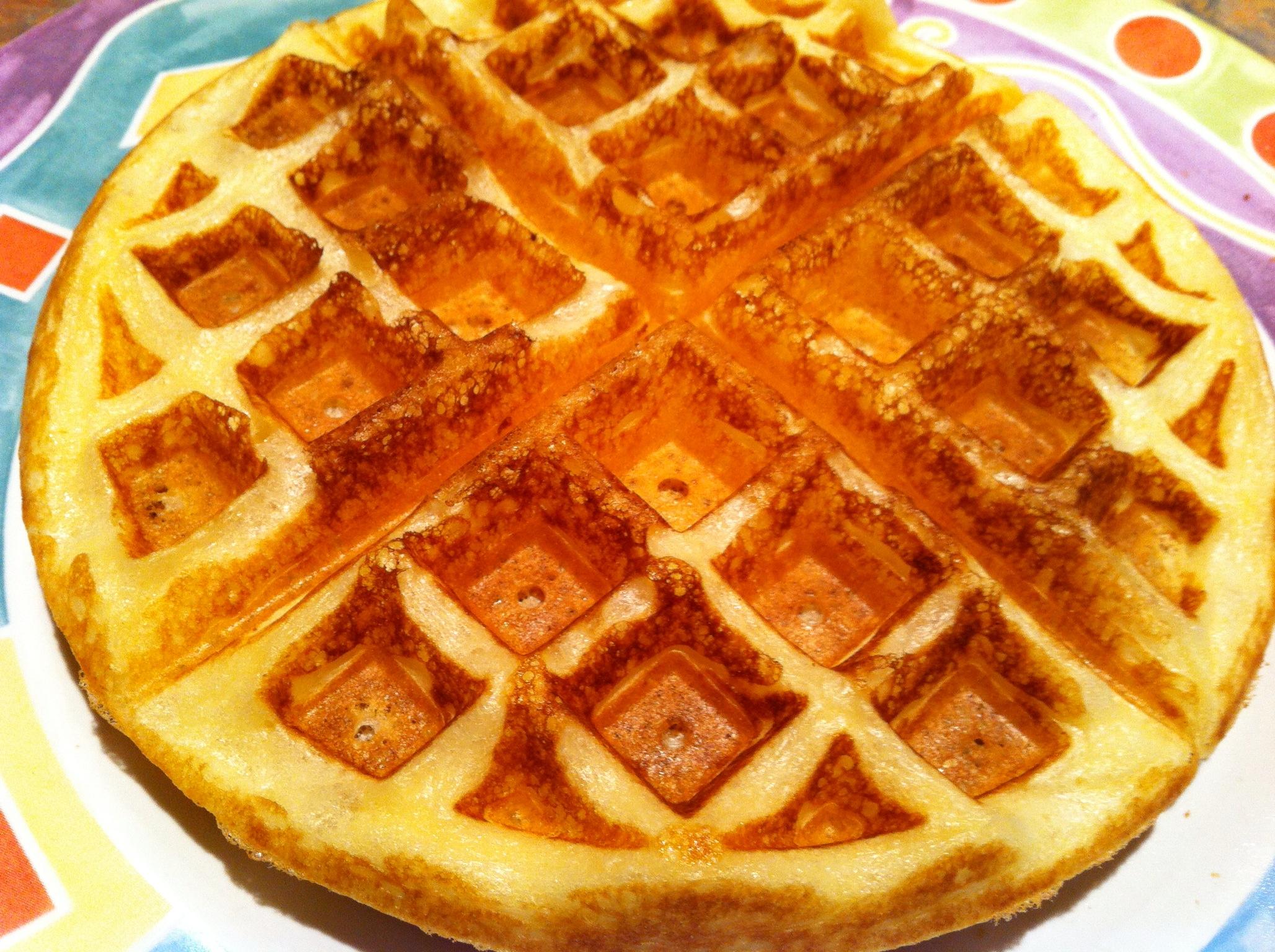 Yeast-raised waffles – Élesztős gofri