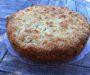 Almond-pear crumble tart – Mandulás körtetorta