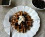 Cherry poppy seed waffles – Cseresznyés-mákos gofri